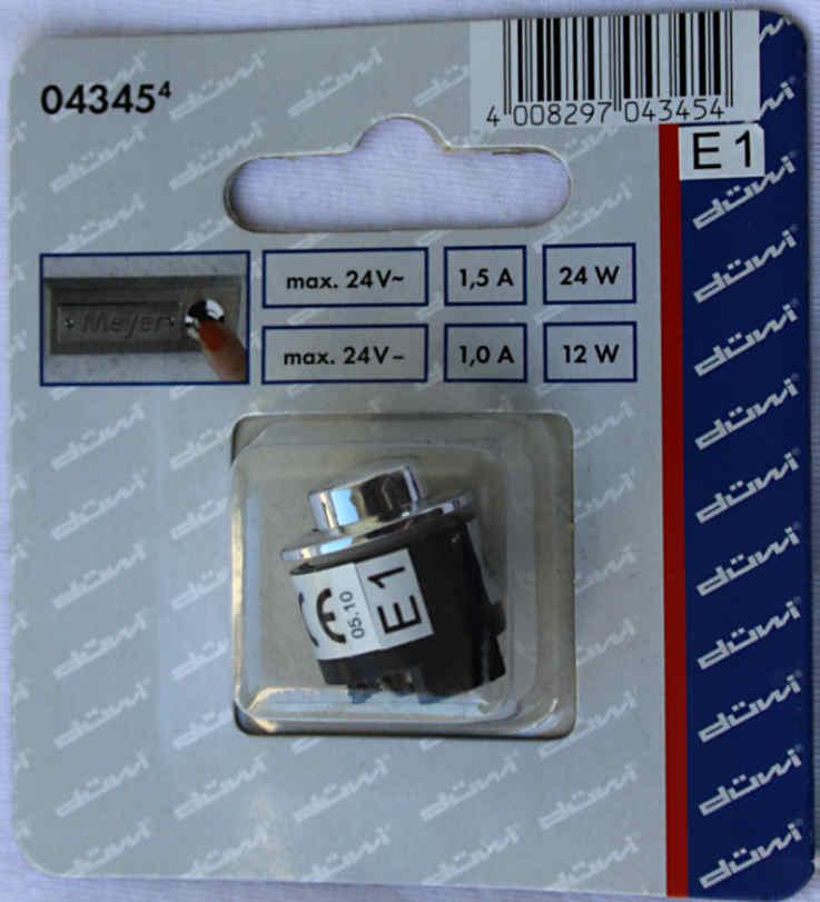 Einbau-Klingeltaster-KLINGELKNOPF-bis-24V-1A-duewi-aus-Metall-mit-Farbauswahl