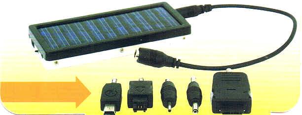 Laden von Solar-Panel
